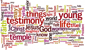 Themes of the Young Women Session of the April 2010 General Conference of the Church of Jesus Christ of Latter-day Saints