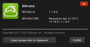 This post reviews Bitcasa 1.1.0.0; hopefully future versions will fix some of these bugs.