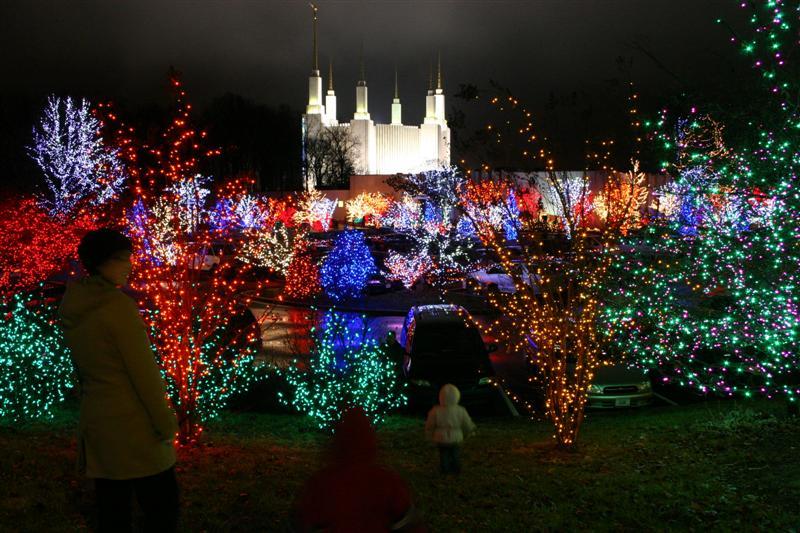 dc temple lights christmas - Christmas Lights In Dc